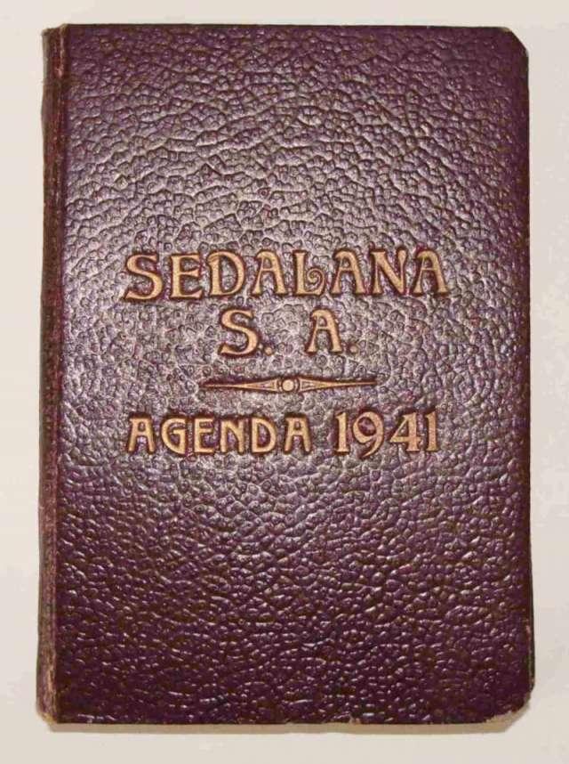 Agenda antigua sedalana s.a. 1 9 4 1