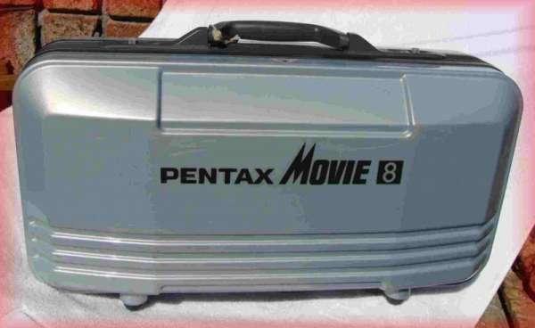 Filmadora pentax movie super 8 - para hacer revisar/reparar parte mecanica de cassete