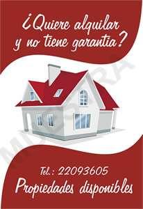 Alquilo garantía incluida, apartamentos, casas y mas