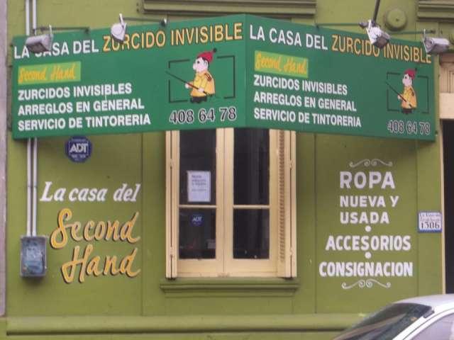 La casa del second hand - la casa del zurcido invisible