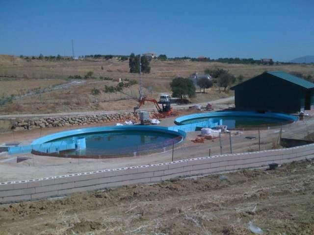 Tanques,reservorios,depósitos,albercas para agua