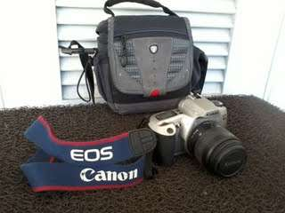 Camara canon rebel xsn 35-80mm excelente estado!!!!