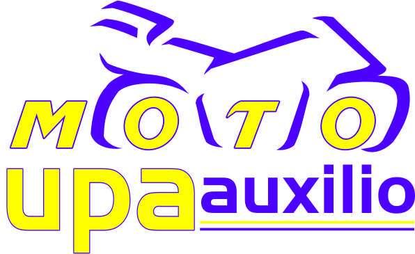 Auxilio mecanico de motos en vía publica