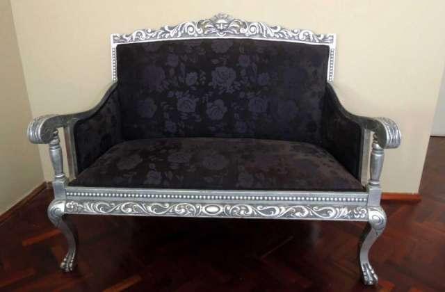 Hermoso sillón antiguo reina ana impecable