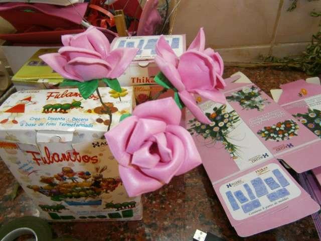 Moldes para hacer flores en goma eva kit 5 moldes x $ 1000 en Centro ...