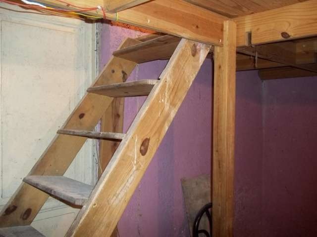 Como hacer una escalera de madera para entrepiso buscar con - Como hacer escalera de madera ...