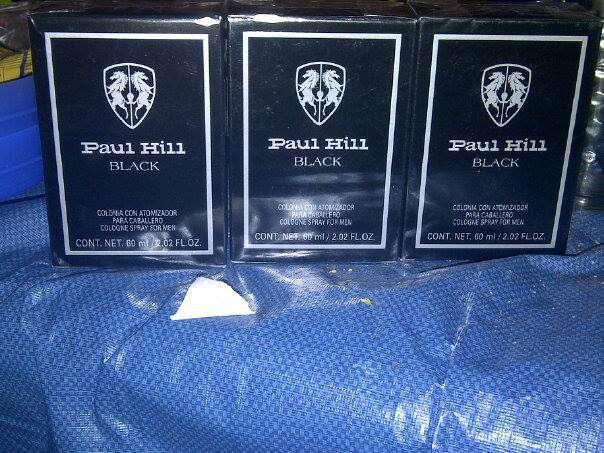 Vendo perfume black hill black