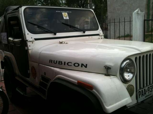 Vendo jeep willys impecable