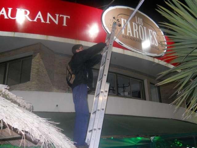 Instalacion en restaurant los faroles (el pinar)