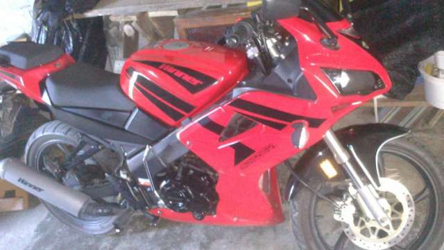 Vendo moto winner spitzer 125 impecable