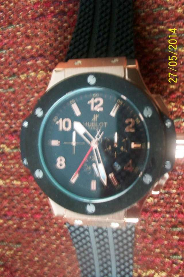Vendo replica de reloj hublot