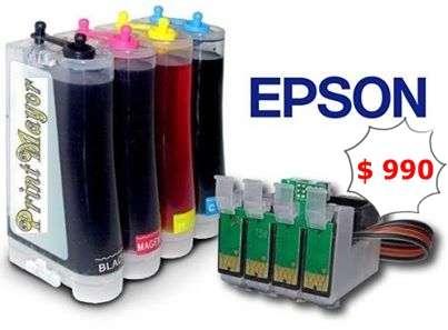 Sistemas continuos de tinta epson & canon