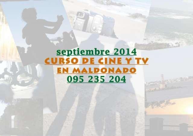 Curso de cine y tv en maldonado septiembre 2014