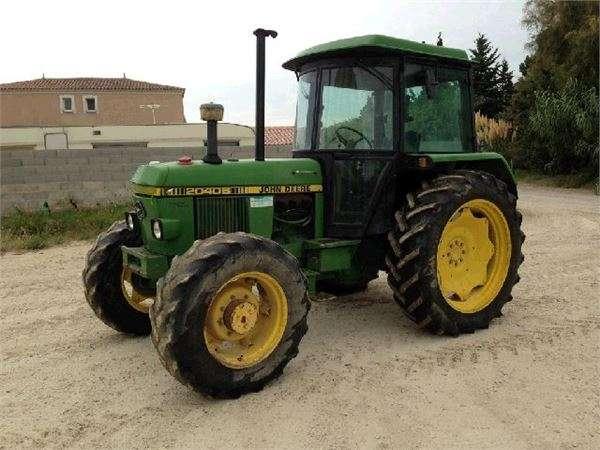 Tractor john deere 2040 s