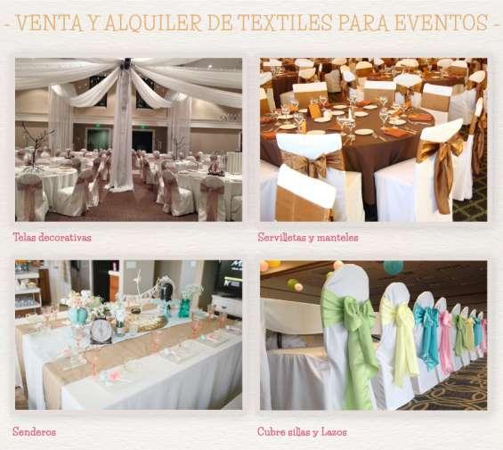 Manteles,senderos, servilletas,cubre sillas-para restaurantes,hoteles y eventos