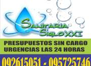 Sanitaria siglo21 sanitario electricista urgencias: 24hrs