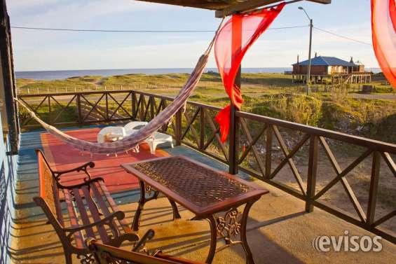 La paloma alquiler de cabañas casas frente al mar, alojamiento rocha uruguay, ubicación pr