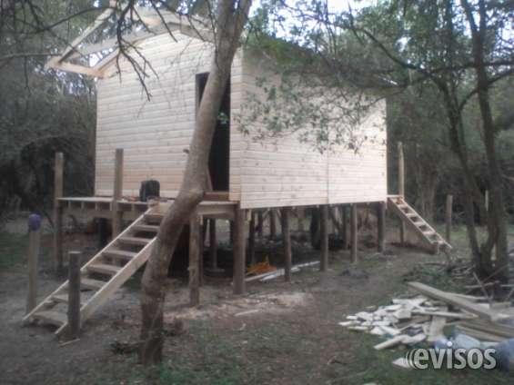 Cabañas en todo el pais , construimos