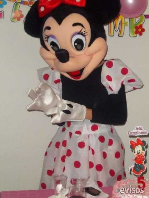 Minnie mouse para fiestas