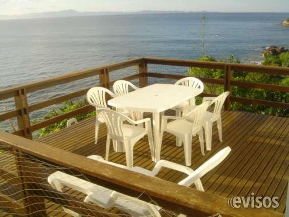 Florianopolis 2017 casas lagoinha : frente al mar!! 2 casas de 3 dormitorios cada una
