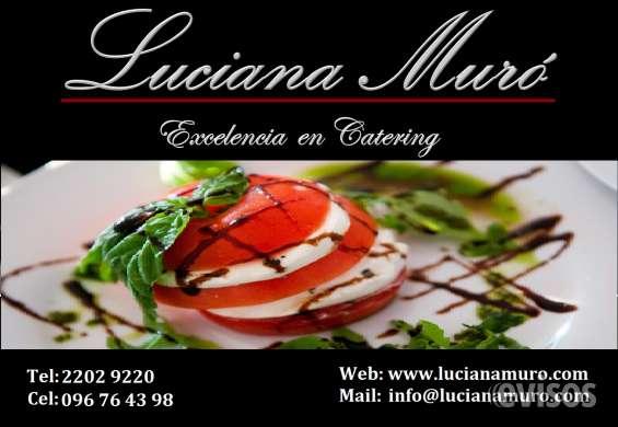 Servicio de catering uruguay, contratar catering uruguay, servicio gastronomico uruguay, luciana muro