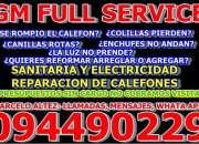 Reparacion de calefones todas las marcas y modelos servicios sanitarios y electricidad