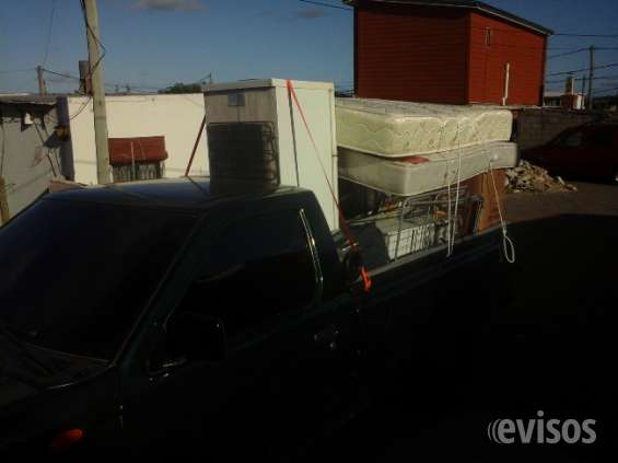 Fletes y traslados en camioneta
