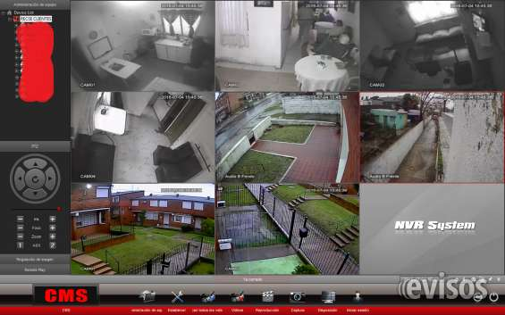 Cms. permite visualizar distintos dvr y nvr