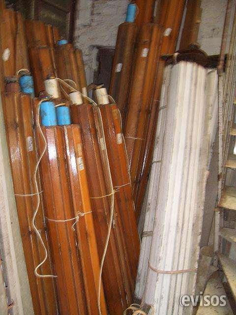 Cortinas de madera tel: 22035217 carrara demoliciones