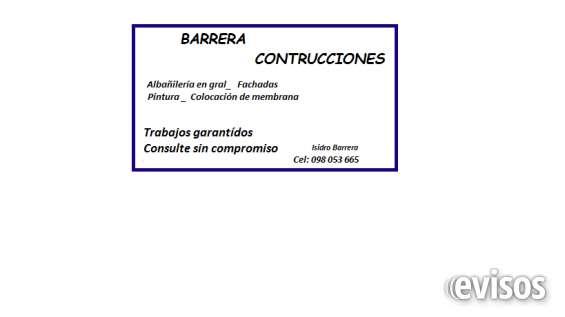 Barrera contrucciones