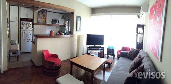 Apartamento luminoso 2 dormitorios en pocitos