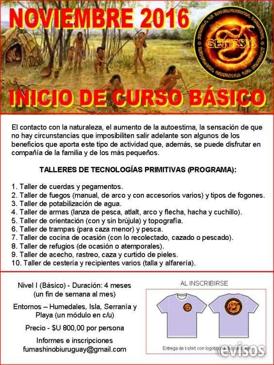 Curso básico de supervivencia primitiva - módulo i
