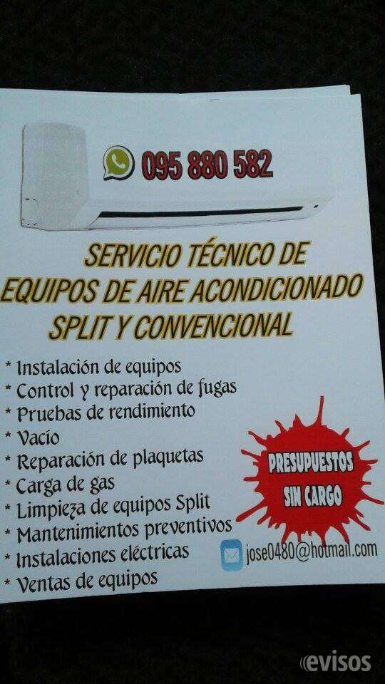 Instalacion y reparacion de aire acondicionado en toda la zona este