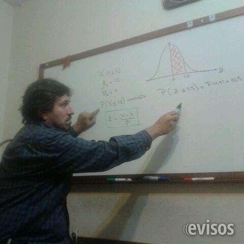 Clases de matematica, contabilidad y estadistica
