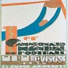 Coleccionista compra artículos fútbol y juegos olímpicos 1924-1928.