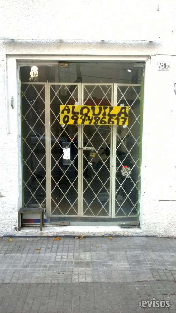 Se alquila local comercial en pocitos
