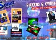 ALQUILER DE EQUIPOS PARA DJ  EN PUNTA DEL ESTE- SONAR PRODUCCIONES