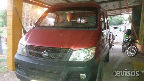 Vendo camioneta chaná heavy doble cabina único dueño