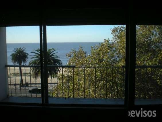 Vista al mar desde el pincipal dormitorio