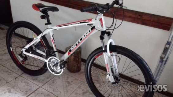Vendo bicicleta nueva con boleta de compra. marca skyland. con garantia.