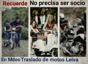 Traslado de motos en Montevideo