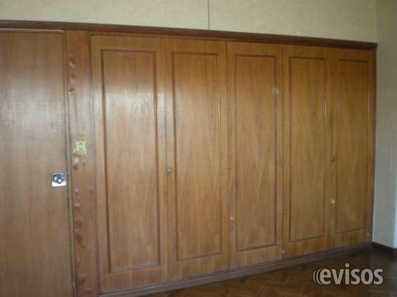 Placares de 4 puertas, del piso al techo