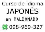 Curso de idioma japonés en Maldonado