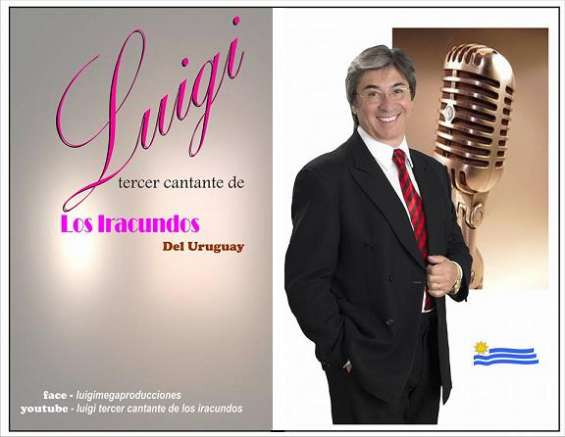 Tributo a los iracundos!!!!! show en vivo de luigi mega