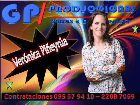 Veronica piñeyrua contrataciones uruguay, contratar a veronica piñeyrua