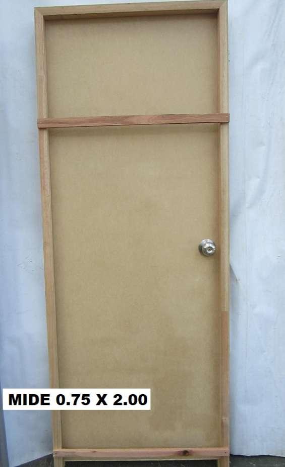 Puerta interior completa nueva con marco y pomo en Goes - Otros ...