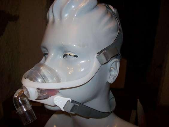 Mascara nasal con cierres belcro
