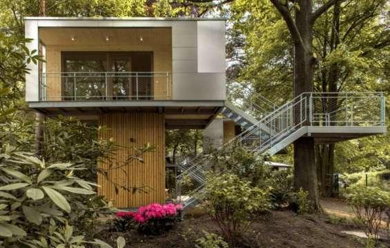 Casas en los arboles construccion