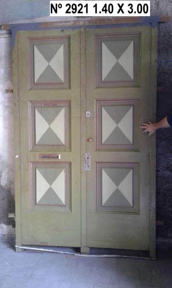 Puerta hierro en carrara!