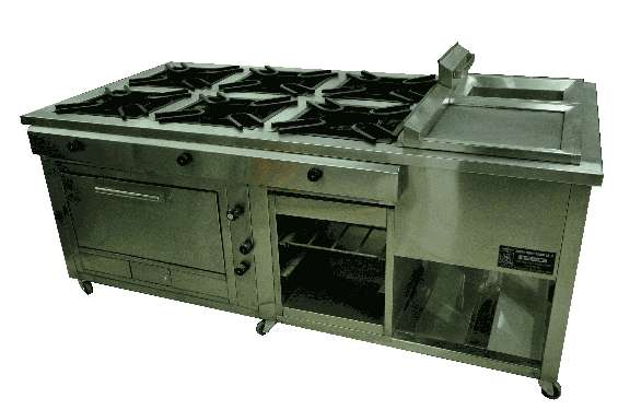 Cocinas ind-horno ecologico-vitrinas refrigeradas